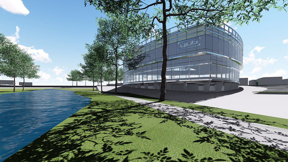 In Planung: Bau eines Fitnessstudios am Niederrhein