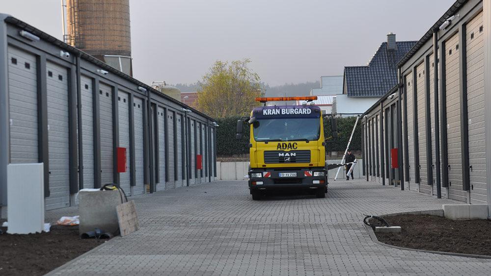Foto MEGA-Garagenpark Remscheid Ansicht-Garagenhof