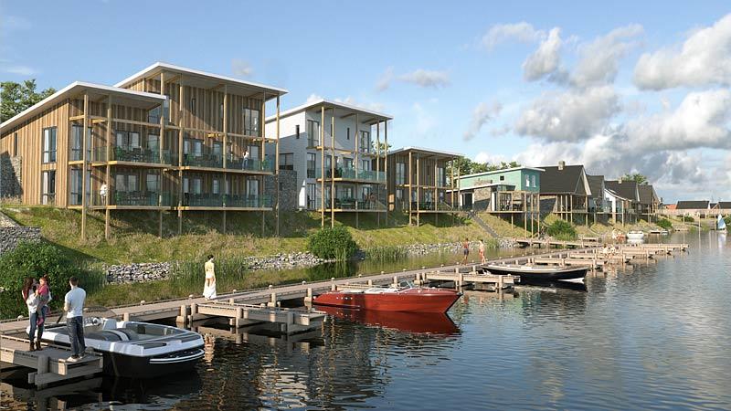 Marina Resort Leukermeer Niederlande Realisierung durch R2B Finanzmanufaktur und Immobilien Duis