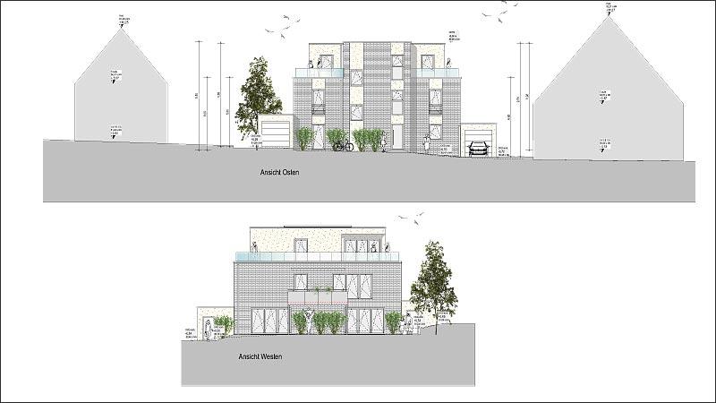 Neubau eines 4-Familienhauses in Werne