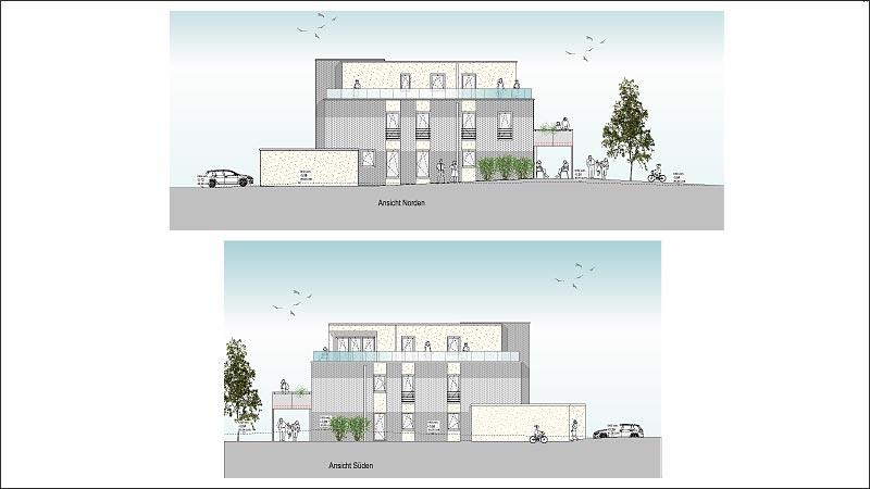 Neubau 4 Familienhaus in Werne