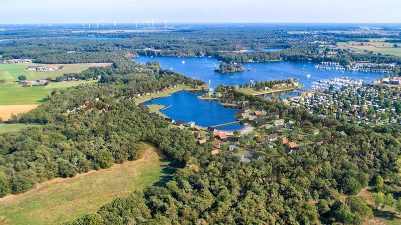Seenplatte Marina Resort Leukermeer Niederlande