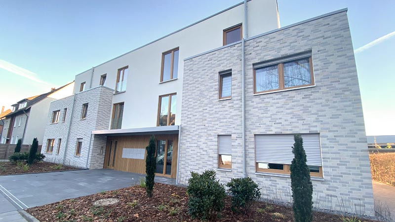 Neubau eines Mehrfamilienhauses in Waltrop